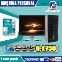 COMPUTADORAS HP CON PROTECCIÓN INCLUIDA