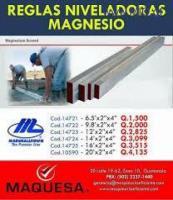 Reglas niveladoras Magnesio