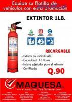 Extintor de 1 LB