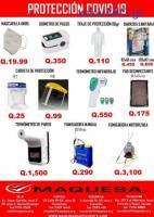 Productos contra el covi-19