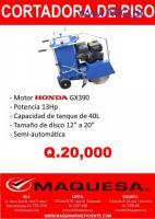 cortadora de concreto y discos de corte