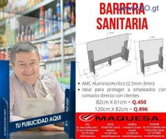 BARRERAS SANITARIAS
