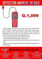 Medidor de gas manual