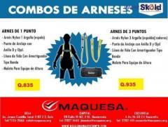 COMBOS DE ARNESES EN MAQUESA HUEHUE