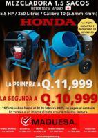 MEZCLADORA JOPER DE 1.5 SACOS A Q.11,999