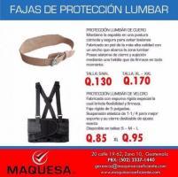 FAJAS DE PROTECCIÓN LUMBAR