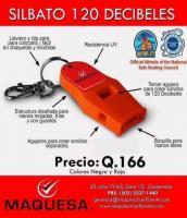 SILBATO 120 DECIBELES