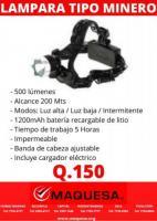 LAMPARA TIPO MINERO