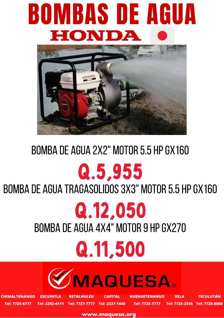 BOMBAS DE AGUA.