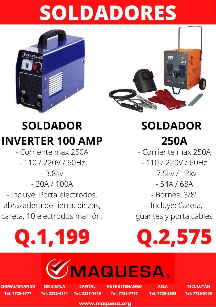 SOLDADORES 110/220V EN MAQUESA