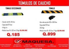 TUMULOS DE CAUCHO.,