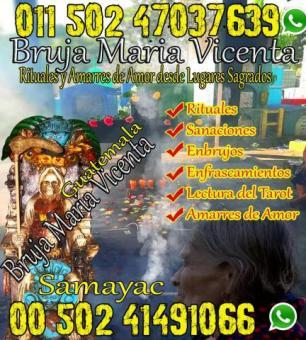 Amarres de Amor con la bruja Maria Vicenta Santera de samayac