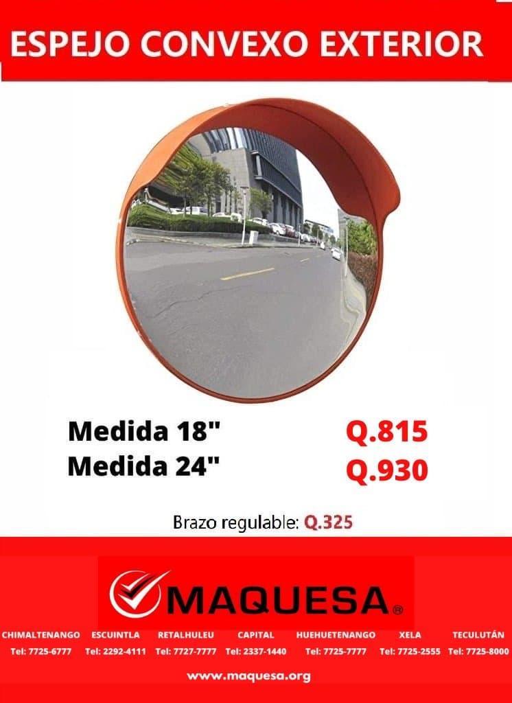 ESPEJOS CONVEXO DE 18 Y 24 PULGADAS