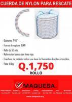 CUERDA DE RESCATE DE 50MTS