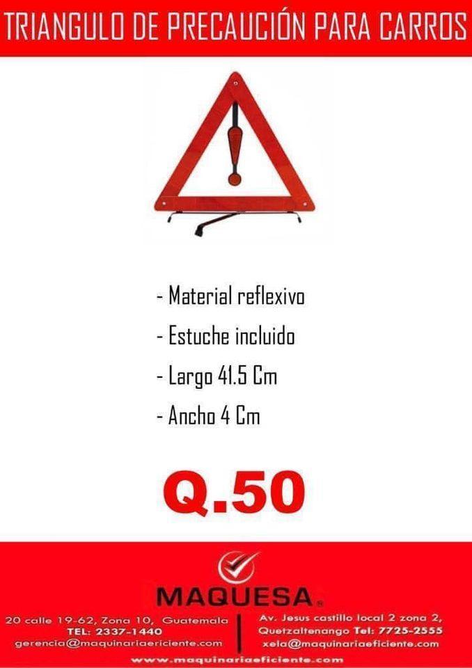 TRIANGULO DE PRECAUCION.