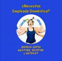 ¿Buscando Empleada Doméstica? Agencia GEPSA, 29 años de experiencia