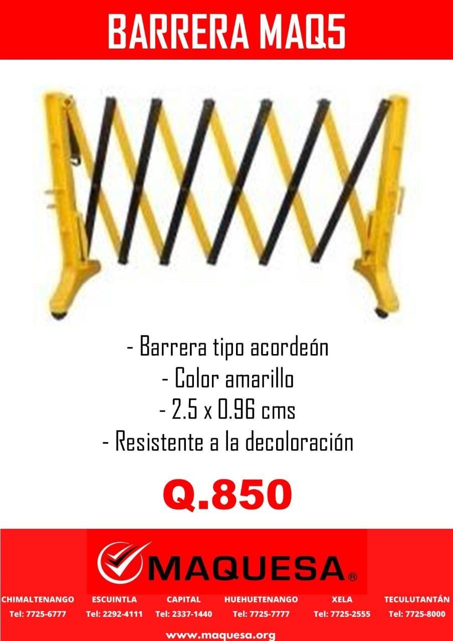 BARRERA MAQ5-