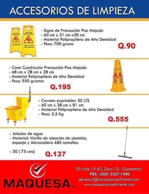 ACCESORIOS DE LIMPIEZA-
