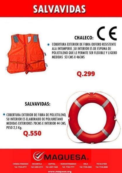 EQUIPO DE SALVADIDAS