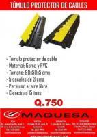 TUMULO PARA PROTECTOR DE CABLES