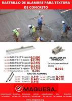 RASTRILLO CON CERDAS DE ALAMBRE
